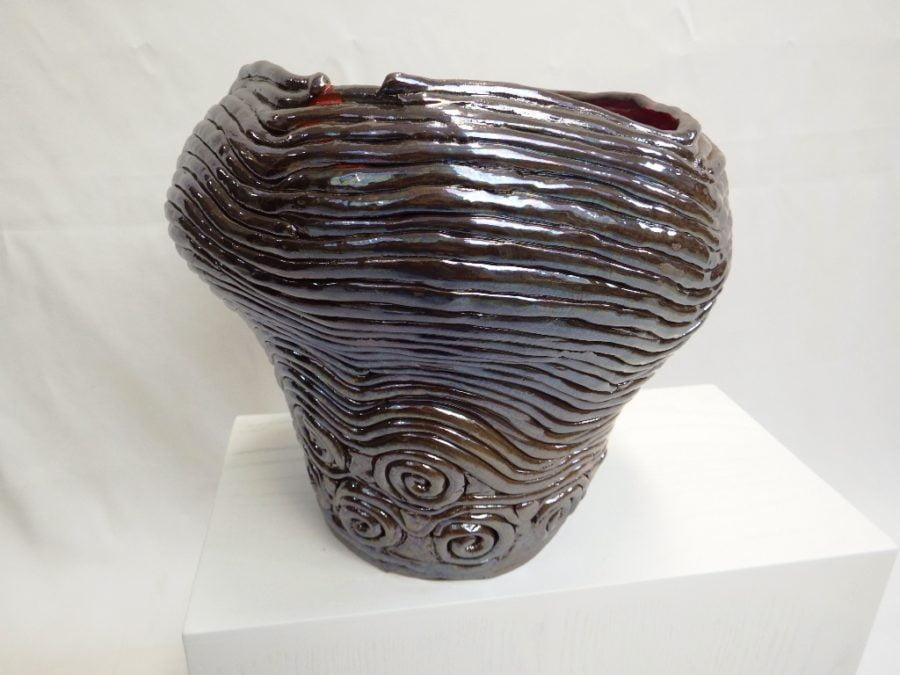 terracotta vaso a colombino